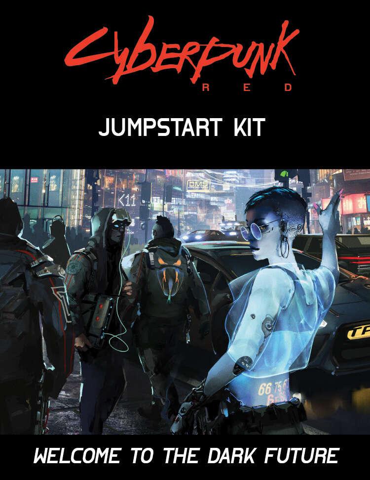 Cyberpunk Red Jumpstart Kit R Talsorian Games Inc R