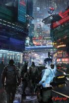 Cyberpunk: Cab Hail Poster