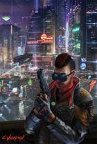 Cyberpunk: Night City Nights Poster