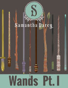 Filler Spot Art - Wands Pt 1 - by Samantha Darcy