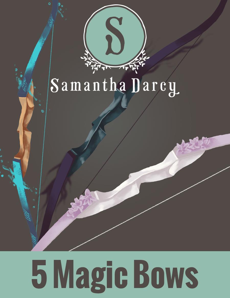 Filler Spot Art - Five Magic Bows - by Samantha Darcy - Samantha Darcy |  DriveThruRPG com