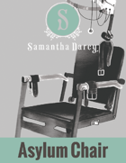 Filler Spot Art - Asylum Chair - by Samantha Darcy