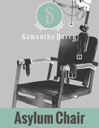 Filler Spot Art - Asylum Chair - by Samantha Darcy