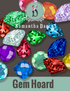 Filler Spot Art - Gem Hoard - by Samantha Darcy