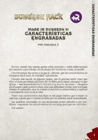 Made in Dungeon: Características engrasadas