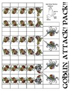 Goblin Attack! Pack!! Paper Miniatures