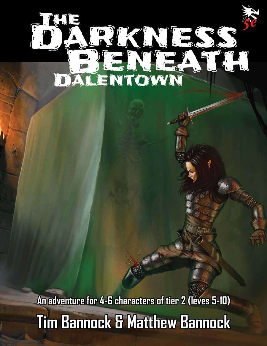 Cover of DD-01 The Darkness Beneath Dalentown