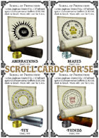 Scroll Cards Compatible with 5e