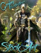 Elite Fantasy Stock Art - Ruler of the Forest