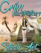 Elite Fantasy Stock Art - Egyptian Queen