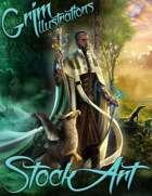 Elite Fantasy Stock Art - Elven Sorcerer