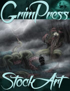 Standard Fantasy Stock Art - Sea Monster