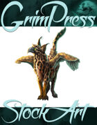 Basic Fantasy Stock Art - Griffin #2