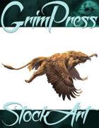 Basic Fantasy Stock Art - Griffin #4