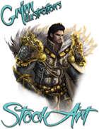 Basic Fantasy Stock Art - Paladin (torso)
