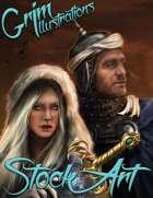 Premium Fantasy Stock Art - Royal Couple