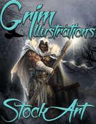 Premium Fantasy Stock Art - Druid #4 (male)