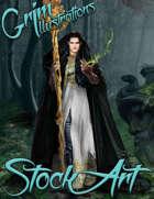 Standard Fantasy Stock Art - Elf Sorcerer