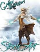 Premium Fantasy Stock Art - Corsair #4 (sea witch)