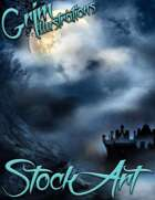 Standard Fantasy Stock Art - Haunting Scenes (Backgrounds)