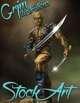 Premium Fantasy Stock Art - Cyborg #1