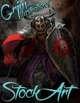 Premium Fantasy Stock Art - Paladin #5 (evil)