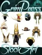 Magical Items Stock Art - Headdress Pack #1