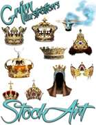 Magical Items Stock Art - Crown Pack #1