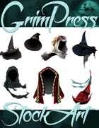 Magical Items Stock Art - Headdress Pack #2
