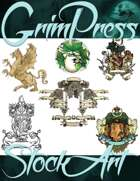 Magical Items Stock Art - Crest & Symbol Pack #1