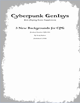 Cyberpunk GenIsys 3 new Backgrounds