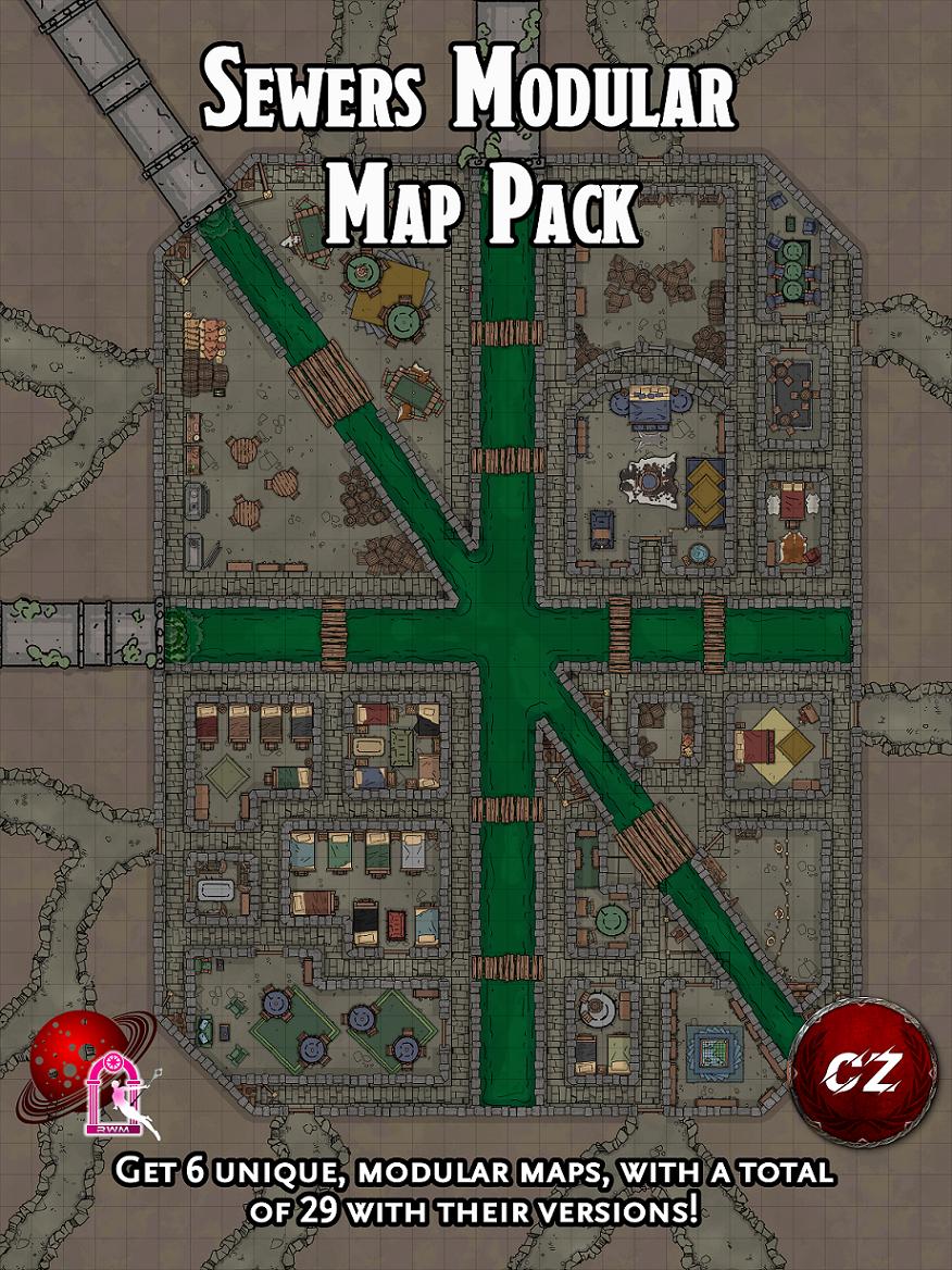 Sewers Modular Map Pack
