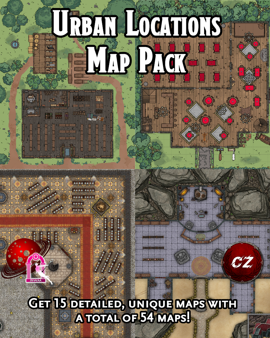 Urban Locations Map Pack