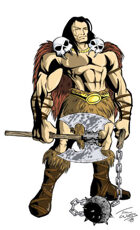 Barbarian by Timothy Watts