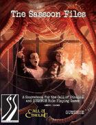 The Sassoon Files (Kickstarter Bundle)