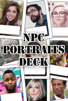 NPC Portraits Deck