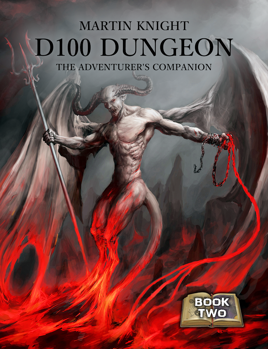 D100 Dungeon: The Adventurers Companion - Martin Knight