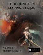 D100 Dungeon - Mapping Game Print and Play