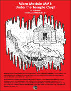 Cover of Under the Temple Crypt