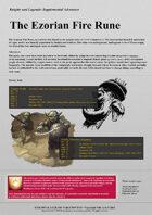 Knights & Legends The Ezorian Fire Rune Supplement