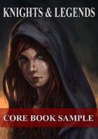 Knights & Legends Core Book Sample