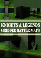 Knights & Legends Gridded Battle Maps