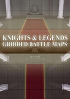 Knights & Legends Gridded Battle Maps 2