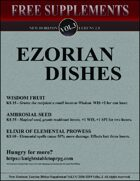 New Horizon: Ezorian Dishes Vol. 3