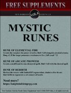 New Horizon: Mystic Runes Vol. 6