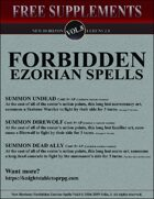 New Horizon: Forbidden Spells Vol. 8