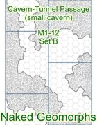 Cavern-Tunnel Passage (small cavern) Set B (M1-12B)