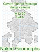 Cavern-Tunnel Passage (large cavern) Set A (M13-30A)