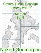 Cavern-Tunnel Passage (large cavern) Set B (M13-30B)