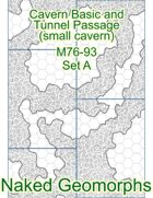 Cavern Basic and Tunnel Passage (small cavern) Set A (M76-93A)